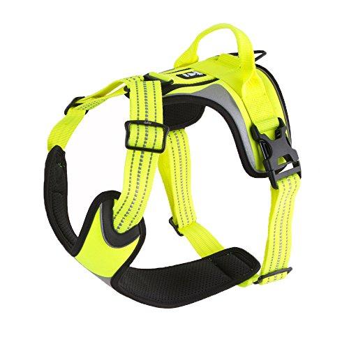 Hurtta Dazzle Harness, Yellow, 24-32