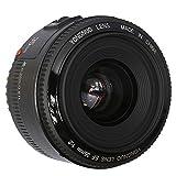 YONGNUO F2 Objetivo YN 35MM Lente Large Aperture Auto Focus Lens para Canon EOS Cámara Fotografía