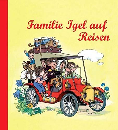 Nostalgische Kinderbücher: Familie Igel auf Reisen
