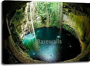 Barewalls Ik-Kil Cenote, Chichen Itza, Mexico Gallery Wrapped Canvas Art (30in. x 40in.)