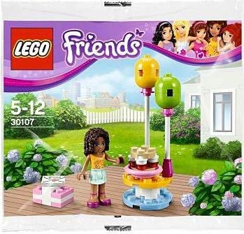discount LEGO Friends Birthday wholesale Party sale 30107 w/Andrea Minifig (Bagged) sale