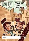 Plan lector primaria - ¡VAYA LÍO CON EL CHOCOLATE!: Guía de lectura del libro ¡Vaya lío con el chocolate! - Cuaderno de ejercicios para mejorar la ... segundo de primaria (Plan dinámico lector)
