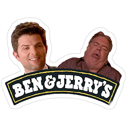 Vinyl Sticker For Cars, Trucks, Water Bottle, Fridge, Laptops Ben And Jerry Parks And Rec. Tom And Jerry Stickers (3 Pcs/Pack) 4696156858636