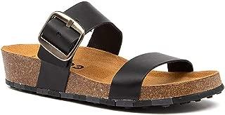 CCILU Horizon Olga Black Sandals