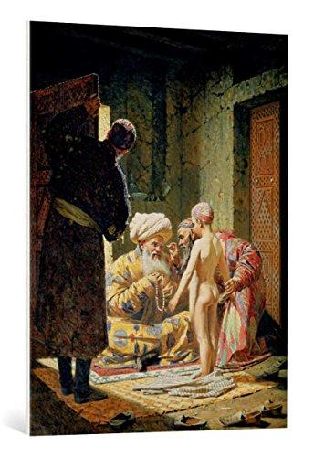 Kunst für Alle Cuadro en Lienzo: Vasili Vasilievich Vereshchagin Sale of a Child Slave 1871-72