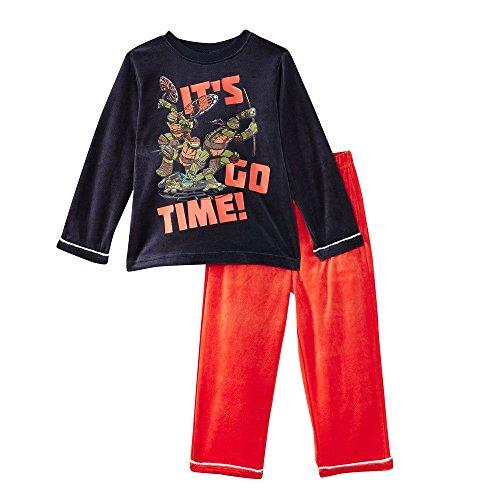 Pijama largo de las Tortugas Ninja multicolor 3 años