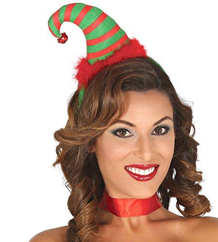 Guirca–Cerchietto Cappello elfo, taglia unica, 42383.0