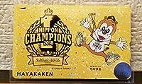 2018年 福岡ソフトバンクホークス日本一記念はやかけん 福岡市地下鉄 ちかまる