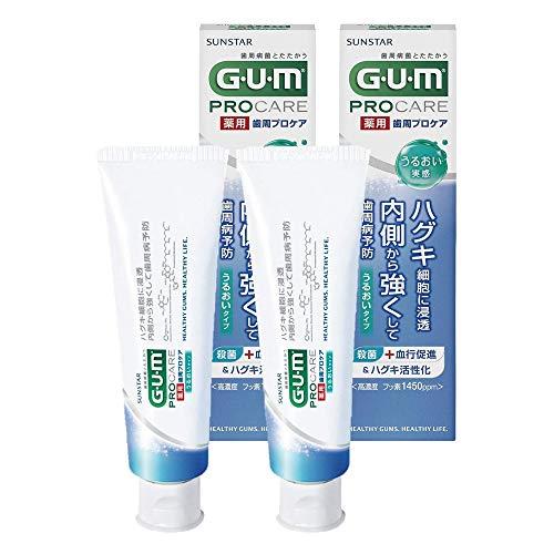[医薬部外品] GUM(ガム) 歯周プロケア デンタルペースト うるおい実感タイプ 85グラム (x 2)