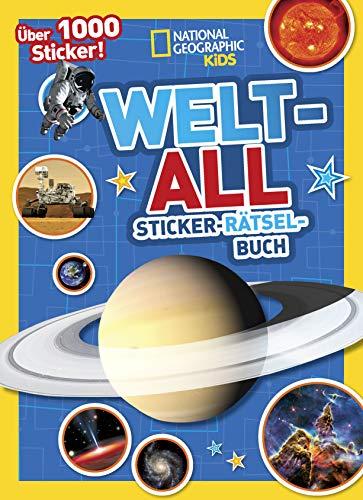Weltall Sticker-Rätsel-Buch mit über 1000 Stickern: National Geographic Kids