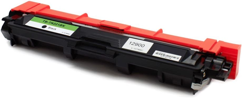 Monoprice Compatible Brother TN221 BK Toner-Black for use in HL-3140CW, HL-3170CDW, MFC-9130CW, MFC-9330CDW, MFC-9340CDW