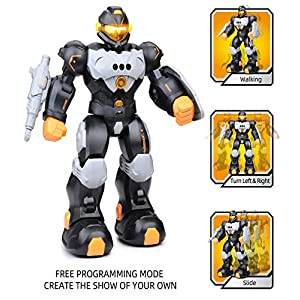 RC Robot Toy for Kids, Smart Intelligent Programmable Remote Control Robots Gesture Sensing Singing Walking Dancing…