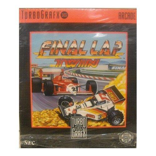Final Lap Twin 16 TurboGrafx Video Game