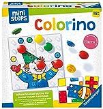 Ravensburger ministeps 4165 Colorino, Mitwachsendes Lernspiel - So wird Farben lernen zum Kinderspiel - Der Spieleklassiker für Kinder ab 18 Monaten