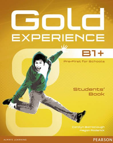 Gold Experience B1+ Students' Book for DVD-ROM Pack