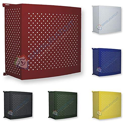 Copri Condizionatore Tutto Colorato (Bianco, 80 H x 85 L x 44/52 P (cm))