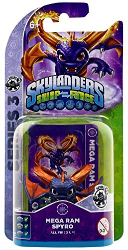 Skylanders Swap Force - Single Character - Series 3 - Mega Ram Spyro