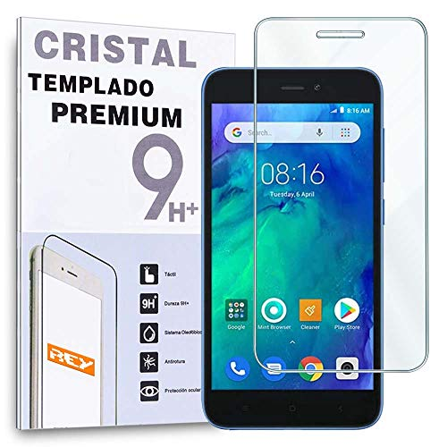 Protector de Pantalla para XIAOMI REDMI GO, Cristal Vidrio Templado Premium