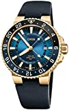 Oris Aquis GMT Carysfort Reef Yellow Gold Limited Edition