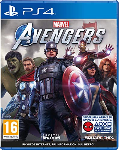 Marvel s Avengers [Esclusiva Amazon.It] - Day-One Limited - PlayStation 4