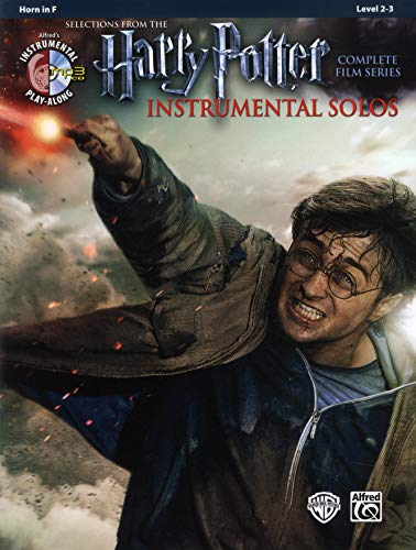 Harry Potter Instrumental Solos from the complete Film Series Horn in F, (Book & CD) (Alfred\'s Instrumental Play-Along)