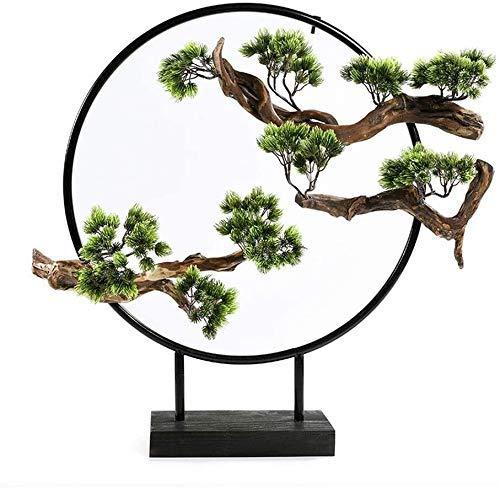Rzemiosło sztuczne rośliny kwiaty sztuczne drzewa rośliny doniczkowe wewnątrz sztuczne drzewa cedrowe bonsai wiecznie zielona zieleń dekoracja dom biuro stół feng shui zen ozdoby z kutego żelaza symulacja Tre