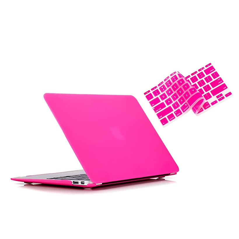 Ruban - Air 11-inch 2 in 1 Soft-Touch Hard Case Cover and Keyboard Cover for Macbook Air 11.6