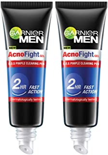 Garnier Garnier Men Acno Fight Pimple Clearing Gel, 10 G (Pack Of 2), 20 g (Pack of 2)