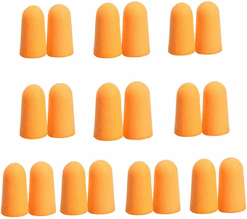 SHENPIN 10 Pairs Foam Earplugs Soft Tapered Comfortable Soun Max 61% OFF Ranking TOP14 and