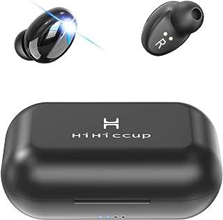 Hihiccup【技術限界突破 イヤホン独立 On/Off 】Bluetooth イヤホン 280時間連続駆動 Hi-Fi 高音質 AAC対応 最新bluetooth 5.0+EDR搭載 完全ワイヤレスイヤホン 左右分離型 自動ペアリング 音量調節可能 技適認証済/Siri対応/防水防汗/iPhone & Android対応
