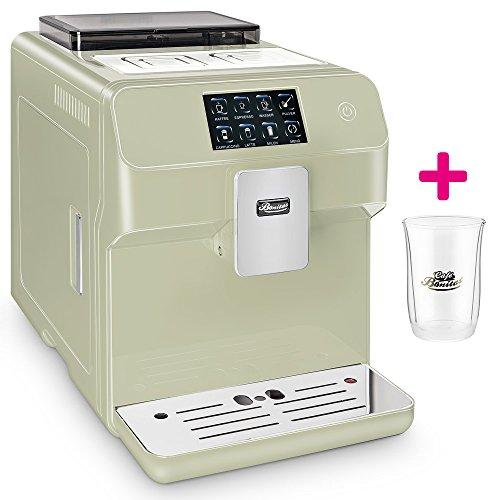 ☆ONE TOUCH☆ Kaffeevollautomat✔ 1 Thermoglas Gratis✔ CAFE BONITAS✔ Kingstar Lime✔ Touchscreen✔ Timer✔ 19 Bar✔ Kaffeeautomat✔ Latte Macchiato✔ Kaffee✔ Espresso✔ Cappuccino✔ heißes Wasser✔ Milchschaum✔