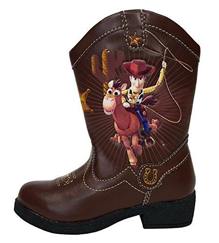 Disney Pixar Toy Story II Woody Light Up Toddler Boys Cowboy Boots (9)