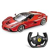 Mondo Motors, FERRARI LAFERRARI, Modello in Scala 1: 14, fino a 10 km/h di Velocità, Auto Giocattolo per Bambini 63263
