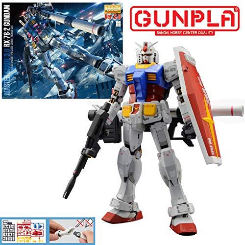 BANDAI - Master Grade Gundam RX-78-2 Ver 3.0 1/100
