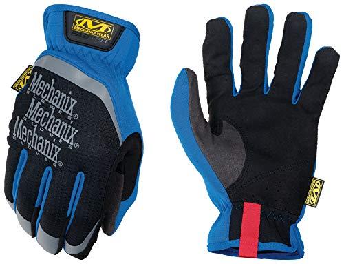 Mechanix Wear - FastFit Work Gloves (Medium, Blue)
