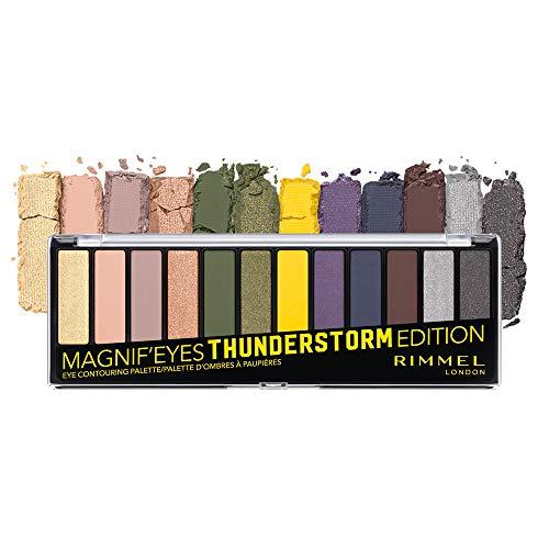 Rimmel London Magnif'Eyes Eyeshadow Palette, Thunderstorm Edition