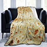 Bernice Winifred Lefse In Your Face Ultra-Soft Micro Fleece Blanket Fabricada en Franela Anti-Pilling, más cómoda y cálida.60x50