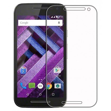 Unbreakable Nano Film Glass [ Better Than Tempered Glass ] Screen Protector for Motorola Moto G Turbo Edition