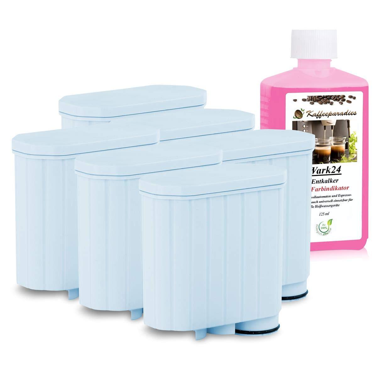 SCANPART Filtro de agua como AquaClean CA6903 para cafeteras automáticas Philips Saeco y un patrón Durgol descalcificador gratis (6 unidades): Amazon.es: Hogar