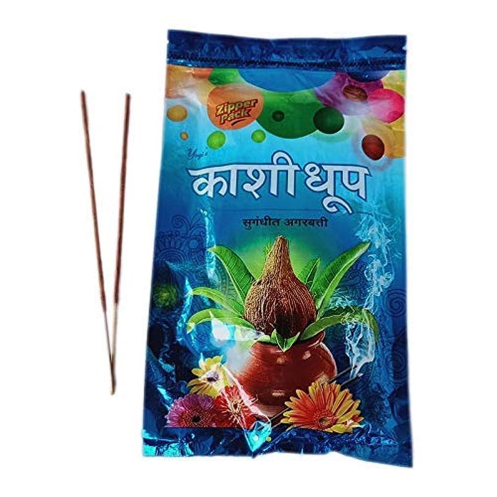 脚トレースファンブルYOGI Kashi Dhoop Incense Sticks/Agarbatti Zipper Pack (180 GM) Pack of 3