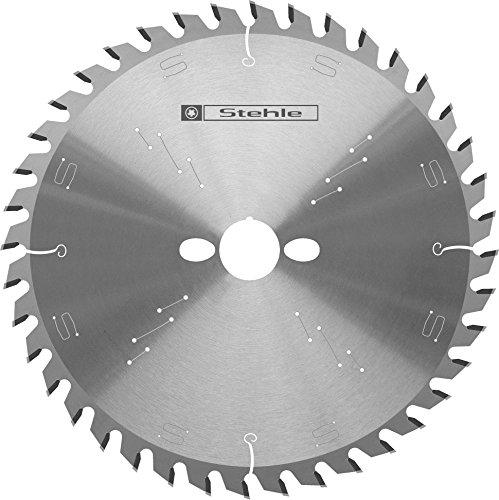 Stehle HW HKS-Board - Hoja de sierra circular para materiales de madera (190 x 2,8 y 2,0 x 20 mm, 60 dientes alternos)