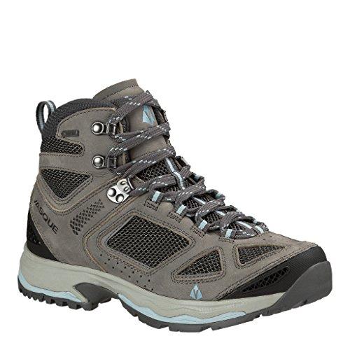 Vasque Women's Breeze GTX Hiking Boot, Gargoyle / Columbia / Stone Blue, 10.5