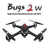 Goolsky MJX B2W Bugs 2W WiFi FPV Drone con cámara 1080P 2.4G 6-Axis Gyro sin escobillas Motor Independiente ESC Drone GPS RC Quadcopter