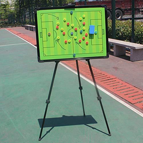 Junta de marcador de baloncesto Junta demostración de fútbol soporte de aleación de aluminio partido de fútbol demostración Junta de Juego de baloncesto entrenador Los entrenadores Estrategia portapap
