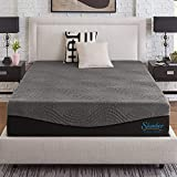 Slumber Solutions Active 12-Inch Charcoal Memory Foam Mattress Queen