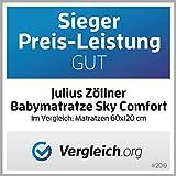 Julius Zöllner Babymatratze Sky Comfort, Schadstoffgeprüft nach Standard 100 by OEKO-TEX, 70 x 140 cm - 5