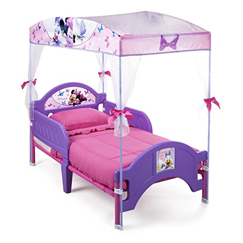 Delta Children's Products Minnie Mouse Canopy Toddler Bed