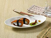 西田(Nishida) 細長い楕円皿(11号) パスタ皿 110246