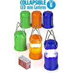 Dawhud direct super bright mini collapsible led lantern (6 pack) 3 this pack features collapsible super bright mini led lantern the advanced collapsible lightweight led lantern is easy to carry and store. Perfect for party favors, giveaway at birthday parties, camping, hiking and power outages etc.