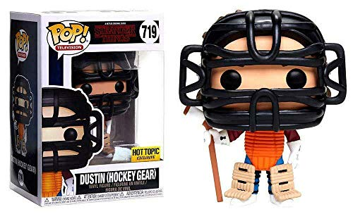 Pop! Stranger Things - Figura de Vinilo Dustin Hockey Gear (Special Edition)